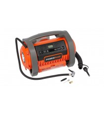 MINI COMPRESSORE PORTATILE BATTERIA LITIO 20V 40V 360 ​​l/m AUTO SALVAGENTI BICI MOTO DUAL POWER
