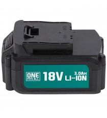 BATTERIA 18 V LITIO 3000 mAh PER GAMMA UTENSILI ONE FITS ALL