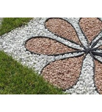 Kit Bordura TERRA COTT MT 15 mm 4 Decorazione Giardino Duttile Flessib Lacogreen